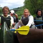 Bild von einer Kanugruppe
