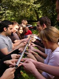 Bild von einem Teamevent